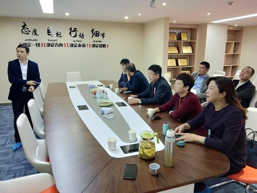 江西高校毕业生就业办主任和各高校领导莅临工务园